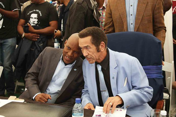 BIGGIE BUTALE AND IAN KHAMA