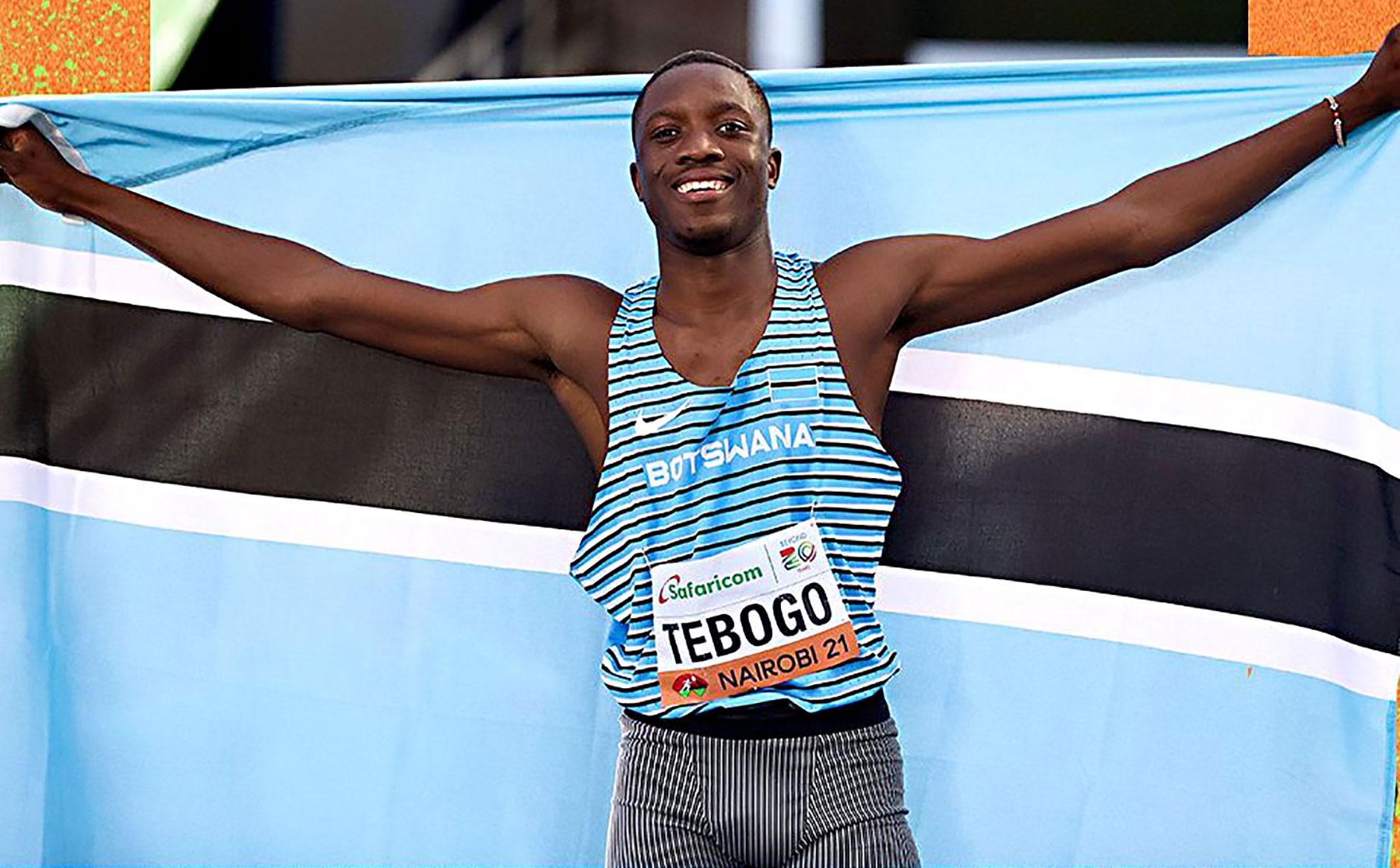 Летсиле Тебого (род. в 2003 г) — чемпион мира 2021 в спринтерском беге на 100 м среди юниоров.